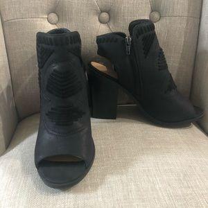 Women's Black Booties 7.5